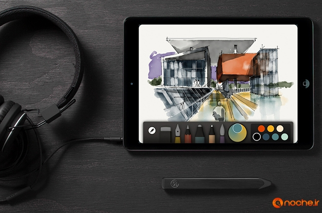 Paper-App-on-iPad-with-Pencil-Stylus-by-53