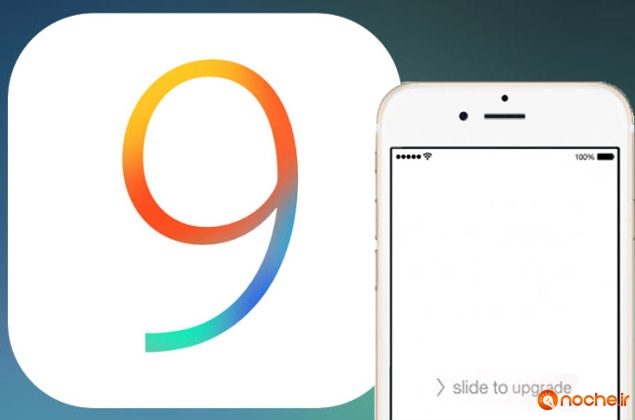 slide to upgrade ios 9 fix