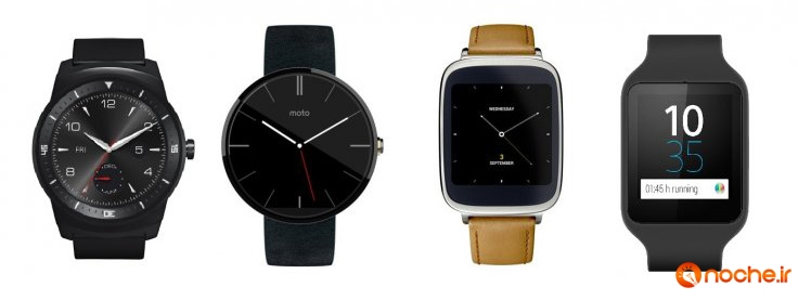android-wear-smartwatch-asus-moto-sony-lg