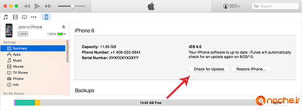 itunes-iphone6-yosemite-summary-checkupdate