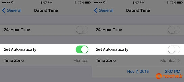 Turn-Off-Set-Automatically-Time-on-iPhone