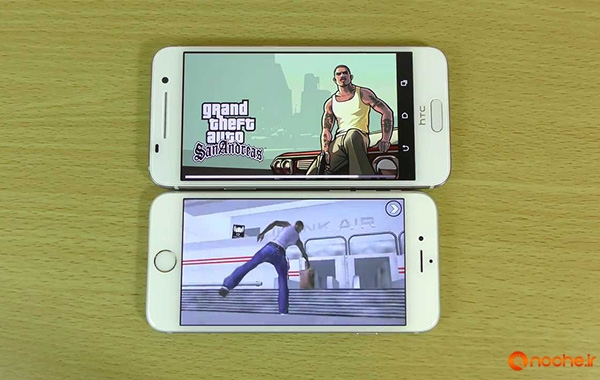 GTA San Andreas Gameplay Comparison HTC One A9 VS iPhone 6S!.mp4_000081510