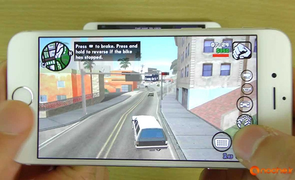 GTA San Andreas Gameplay Comparison HTC One A9 VS iPhone 6S!.mp4_000140640