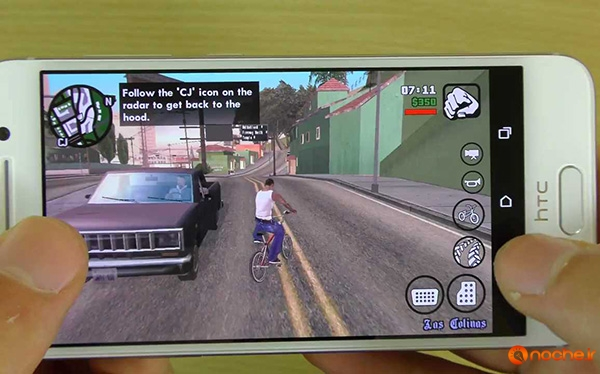 GTA San Andreas Gameplay Comparison HTC One A9 VS iPhone 6S!.mp4_000252960