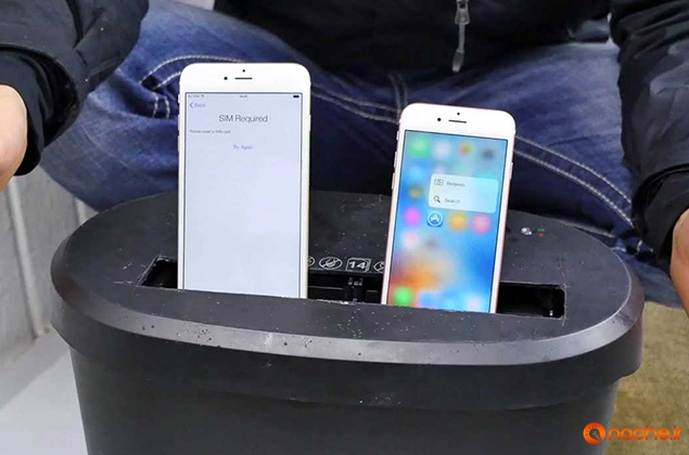 Paper Shredder vs iPhone 6S - Can You Shred an iPhone.mp4_000000000