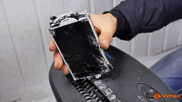 Paper Shredder vs iPhone 6S - Can You Shred an iPhone.mp4_000345115