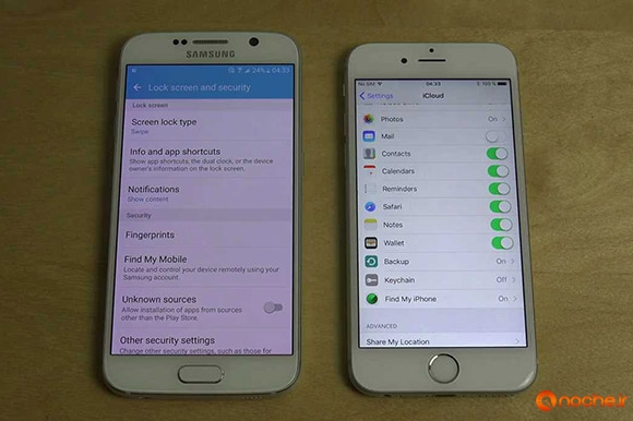 Samsung Galaxy S6 Android 6.0 Beta vs. iPhone 6S iOS 9.2 - Which Is Faster.mp4_000180960