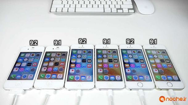 iOS 9.2 vs iOS 9.1 Speed Test on iPhone 6S, 6, 5S, 5 & 4S - iOS 9.2 Faster.mp4_000086915