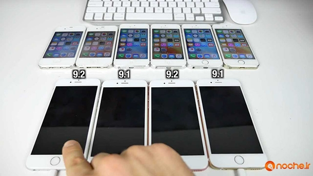 iOS 9.2 vs iOS 9.1 Speed Test on iPhone 6S, 6, 5S, 5 & 4S - iOS 9.2 Faster.mp4_000124299
