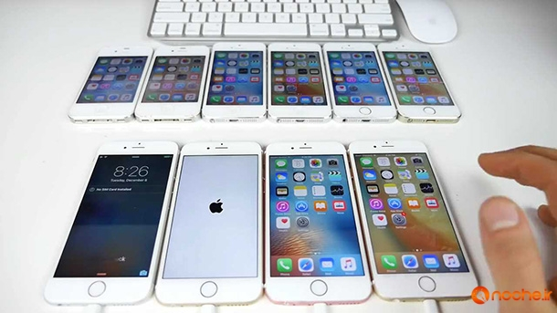 iOS 9.2 vs iOS 9.1 Speed Test on iPhone 6S, 6, 5S, 5 & 4S - iOS 9.2 Faster.mp4_000149268