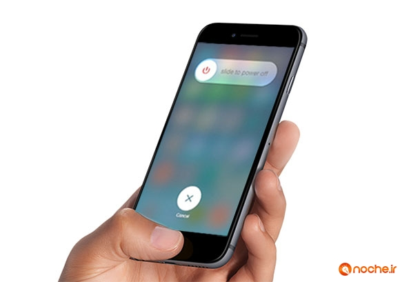 pressing home button iphone