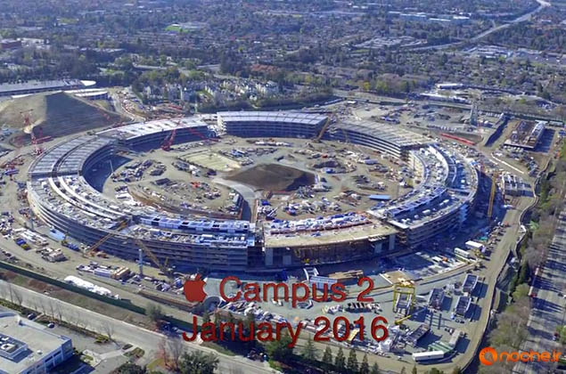 Apple Campus 2 Construction January 2016.mp4_000003394
